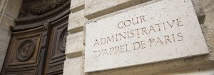 Cour administrative d'appel de Paris