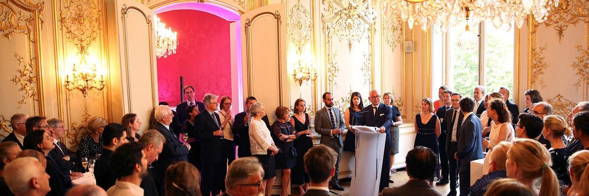 Inauguration des nouveaux bureaux du cabinet BRIARD