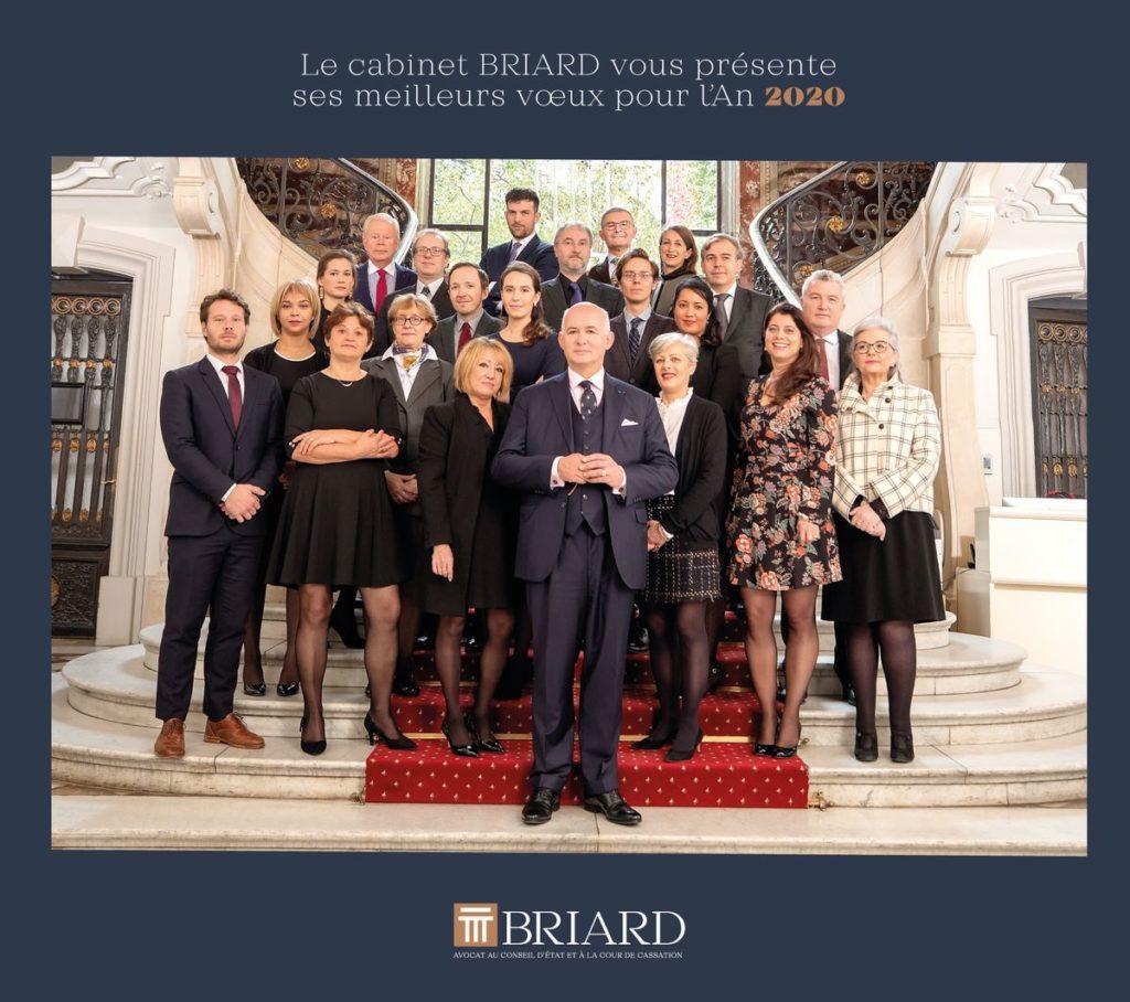Le cabinet Briard vous présente ses meilleurs vœux pour l'an 2020.